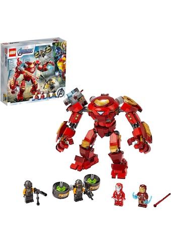LEGO® Konstruktionsspielsteine »Iron Man Hulkbuster vs. A.I.M.-Agent (76164), LEGO®... kaufen