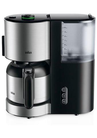 Braun Filterkaffeemaschine ID Collection Kaffeemaschine KF 5105 BK schwarz kaufen