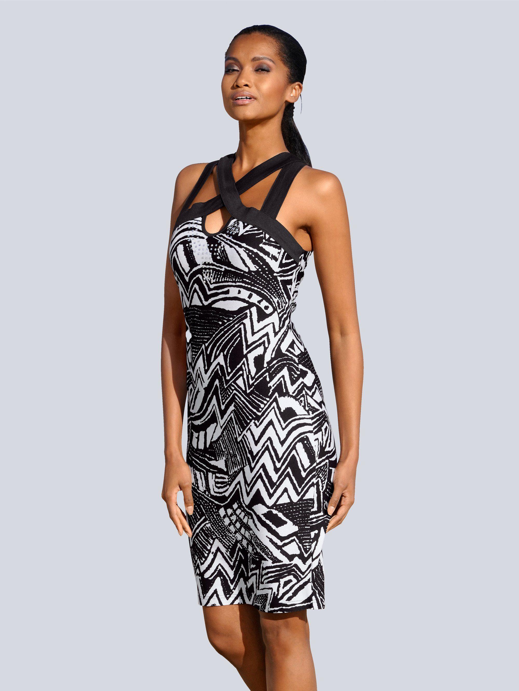 Alba Moda Kleid mit raffiniertem Ausschnitt für | BAUR