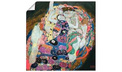 Artland Wandbild »Die Mädchen (Die Jungfrau)«, Frau, (1 St.), in vielen Größen &... kaufen