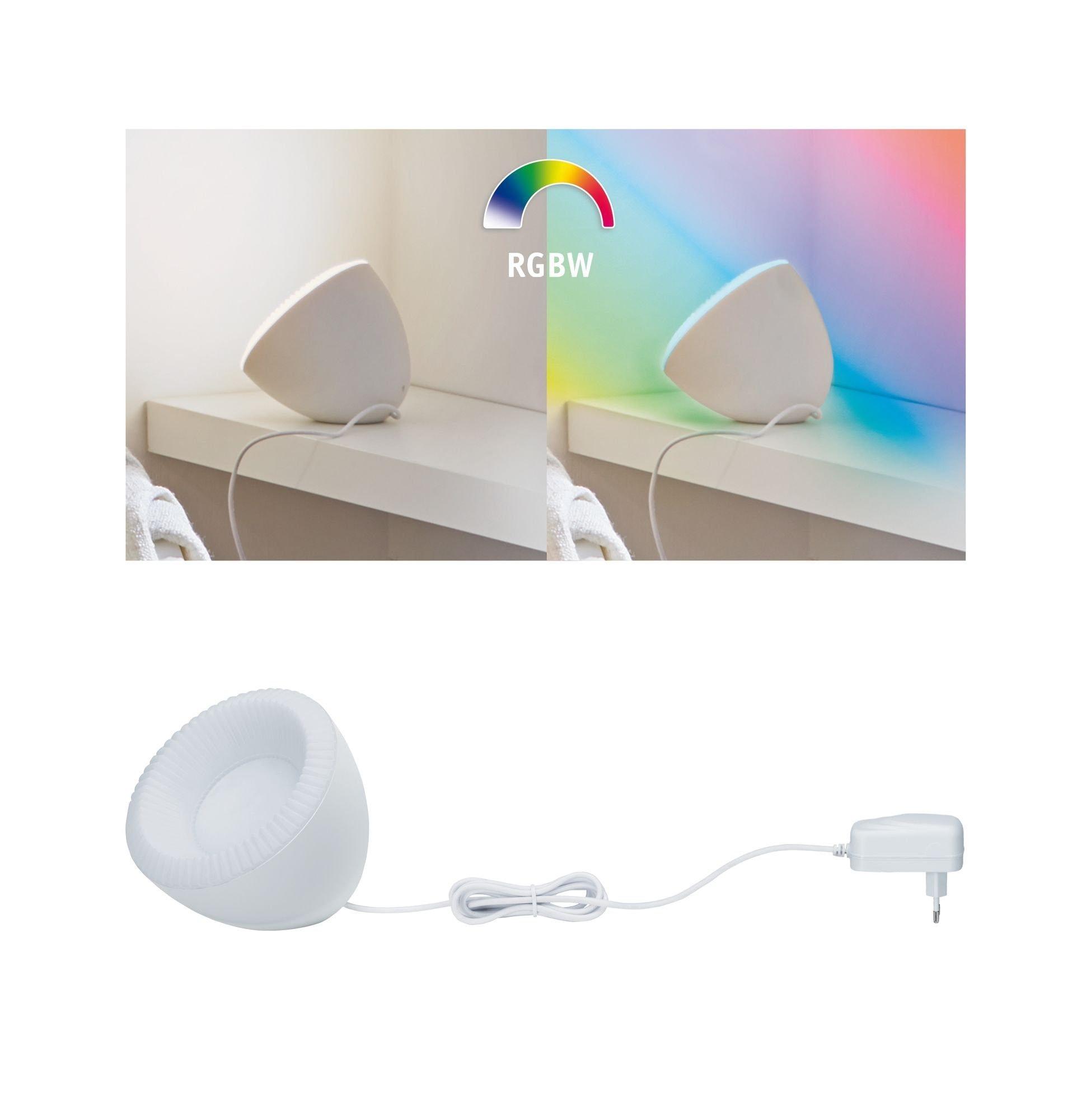 Paulmann,LED Tischleuchte SmartHome BLE Cornus RGB+W 12W Weißlichtsteuerung per App via Bluetooth