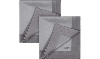 Joop! Stoffserviette »SIGNATURE«, (Set, 2 St.), Aus Jacquard-Gewebe gerfertigt mit... kaufen