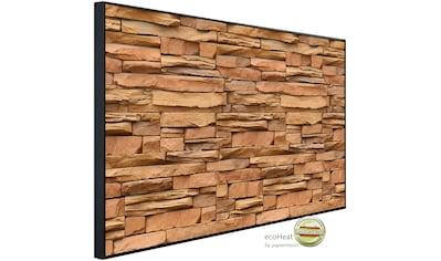 Papermoon Infrarotwandheizung »Steinwand«, sehr angenehme Strahlungswärme kaufen