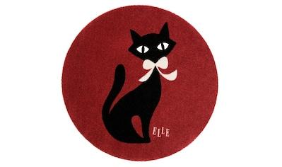 ELLE Decor Kinderteppich »Felidae«, rund, 7 mm Höhe, waschbar, rutschhemmend kaufen