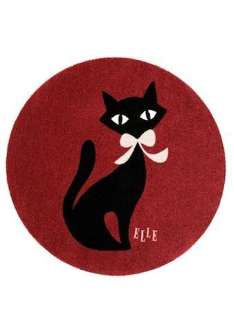 Kinderteppich, »Felidae«, ELLE Decor, rund, Höhe 7 mm, maschinell getuftet kaufen