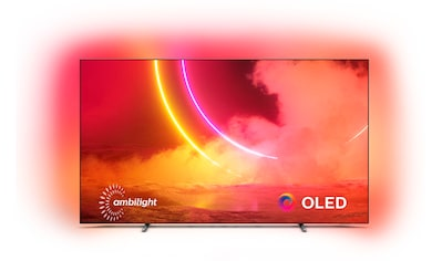 Philips 55OLED805 OLED - Fernseher (139 cm / (55 Zoll), 4K Ultra HD, Android TV kaufen