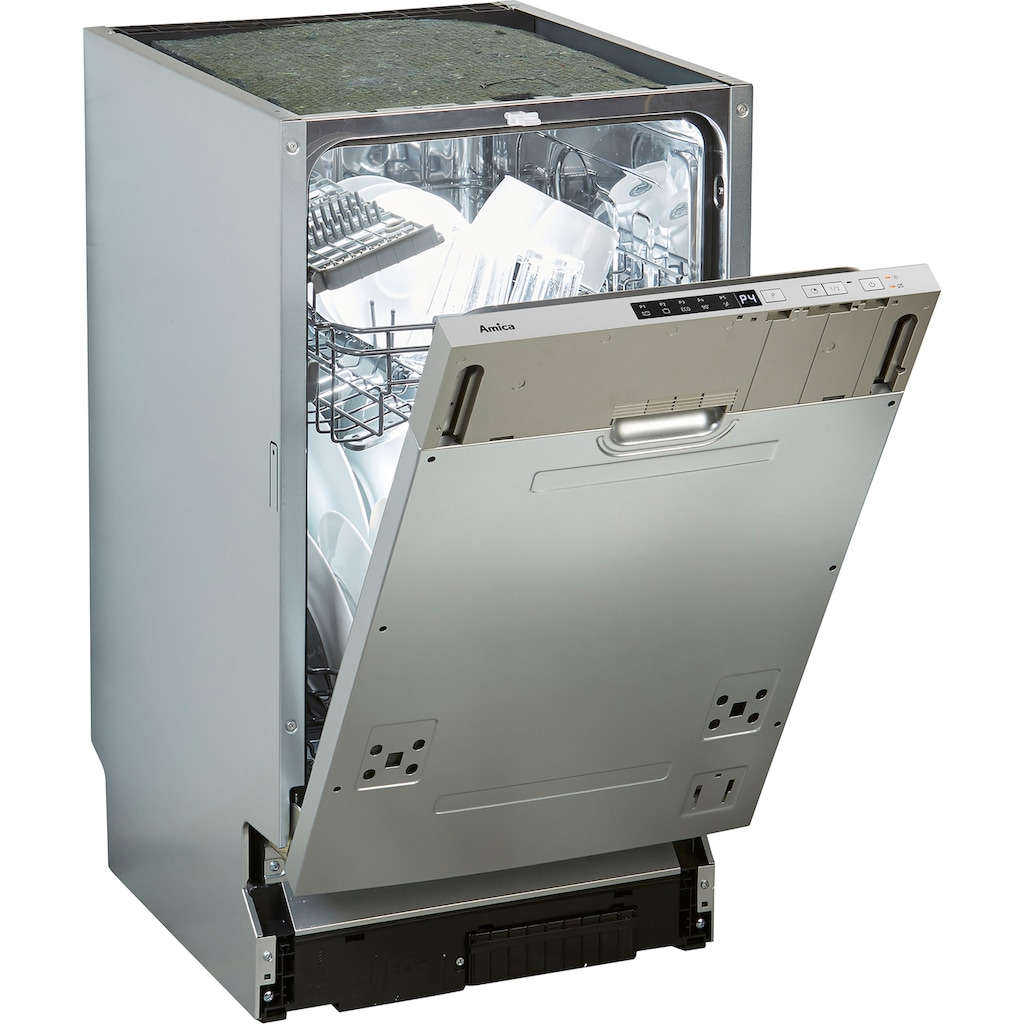 Amica vollintegrierbarer Geschirrspüler »EGSPV 580 910-1«, EGSPV 580 910-1, 10 Maßgedecke