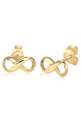 Elli Paar Ohrstecker »Infinity Unendlichkeit Symbol 925 Silber« kaufen