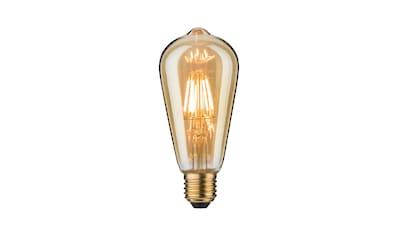 Paulmann »Vintage - Kolben ST64 7,5W E27 Gold Warmweiß« LED - Leuchtmittel kaufen