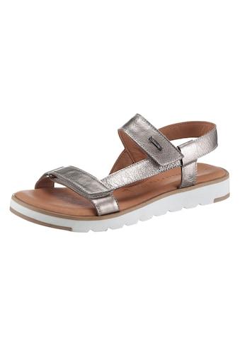 Tamaris Sandale »YILLI«, im Metallic-Look kaufen