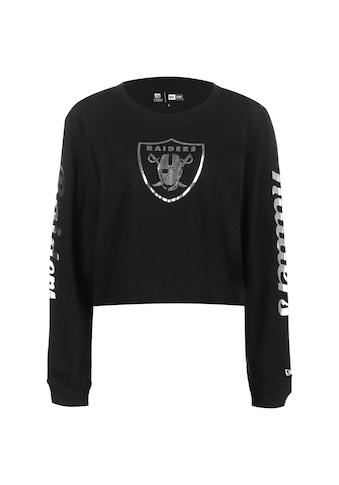 New Era Longsleeve »Nfl Oakland Raiders Cropped« kaufen