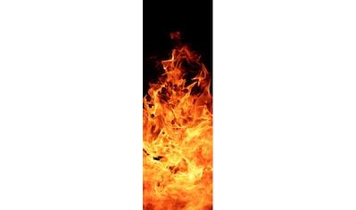 PAPERMOON Glas - Infrarotheizung »EcoHeat«, Motiv Fireplace, 500 W, rahmenlos kaufen