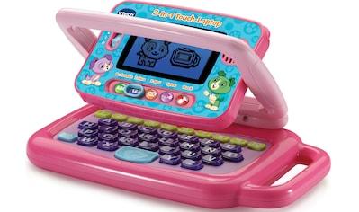 Vtech® Kindercomputer »2in1 Touch-Laptop, pink« kaufen