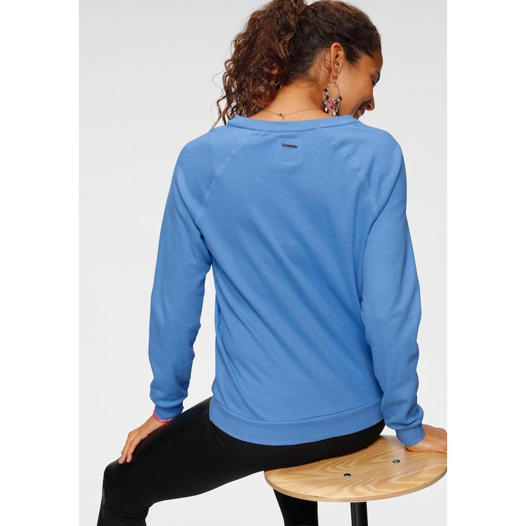 KangaROOS Sweater, mit großem Label-Print vorne