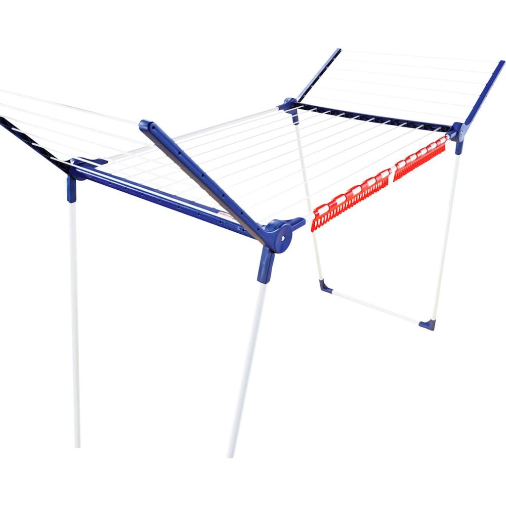 Leifheit Wäscheständer »Pegasus 180 Solid«, 18 m Trockenlänge, 2 Kleinteilehalter