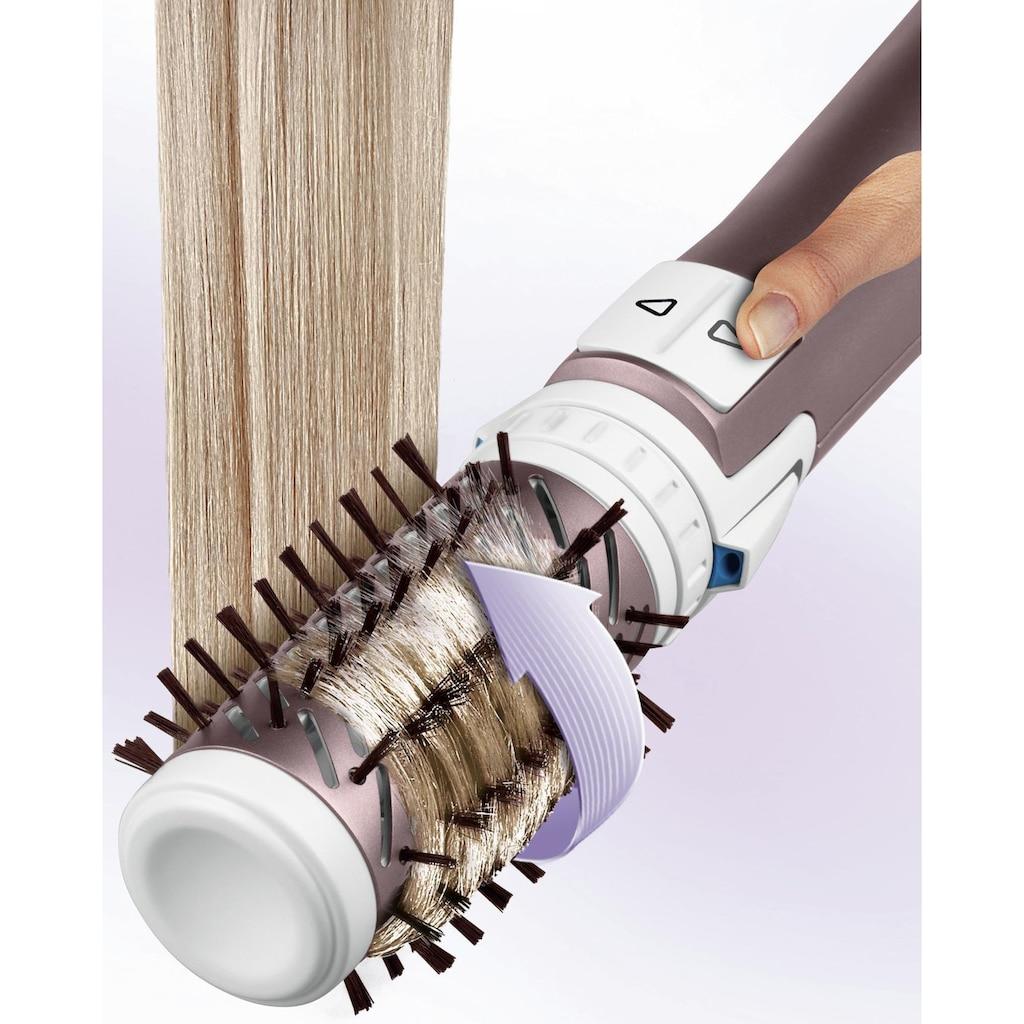 Rowenta Warmluftbürste »CF9540 Brush Activ Premium Care mit Naturborsten«, 2 Aufsätze}, Kaschmir-Keratin-Beschichtung, 2 Bürstaufsätze inklusive