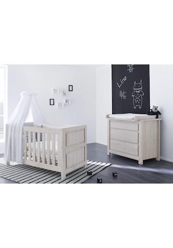 Pinolino® Babymöbel-Set »Line«, (Spar-Set, 2 St.), breit; mit Kinderbett und... kaufen