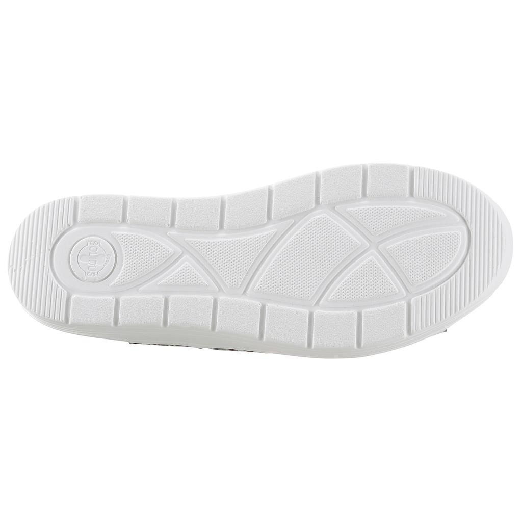 SOLIDUS Sandale »GRETA«, mit praktischem Wechselfußbett