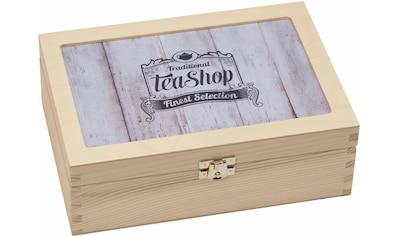 Contento Teebox »Traditional Tea-Shop Finest Selection«, (1 tlg.) kaufen