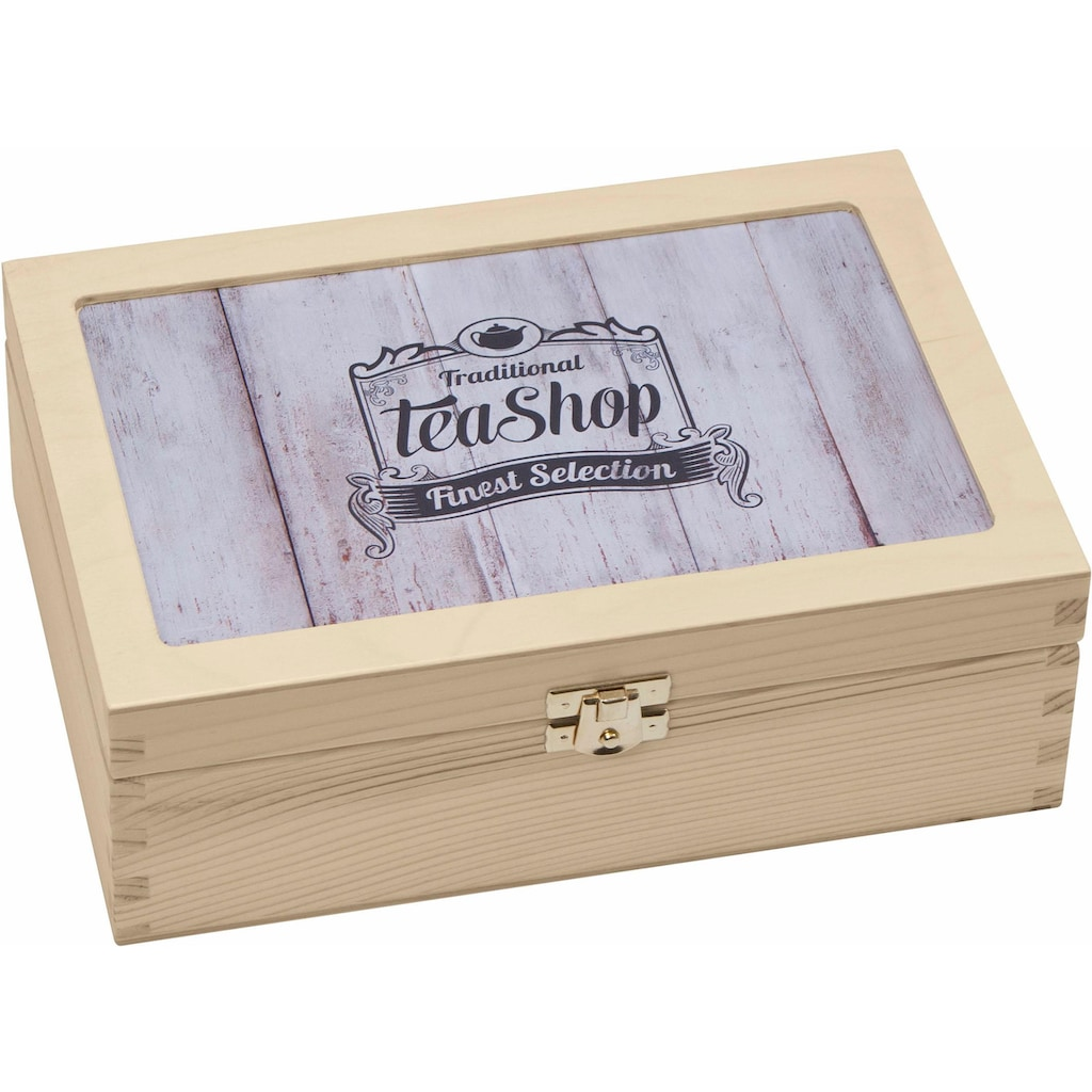 Contento Teebox »Traditional Tea-Shop Finest Selection«, (1 tlg.)