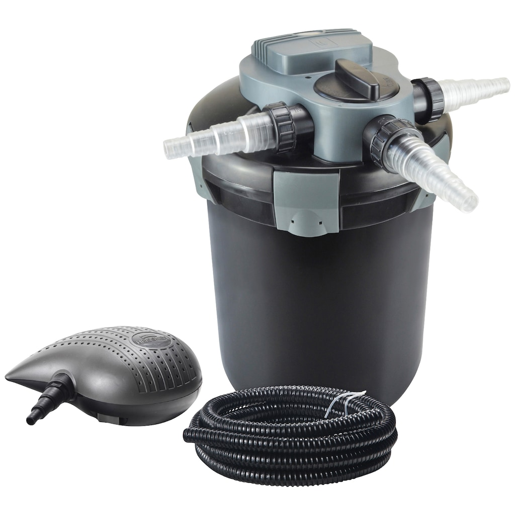Heissner Teichfilter »FPU10000-Set«, mit UVC-Klärer, Förderleistung: 3.300 l/h