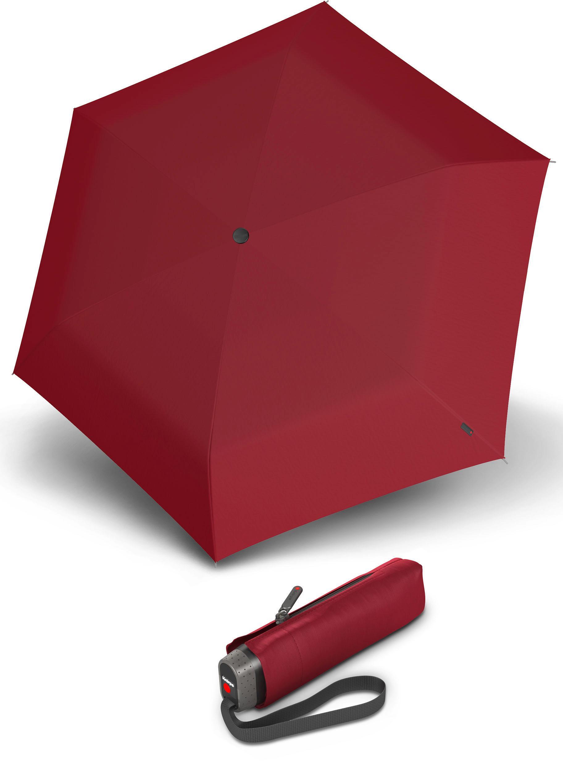Knirps Taschenregenschirm ´´TS010 Slim Small Manual´´   Accessoires > Regenschirme > Sonstige Regenschirme   Rot   Knirps