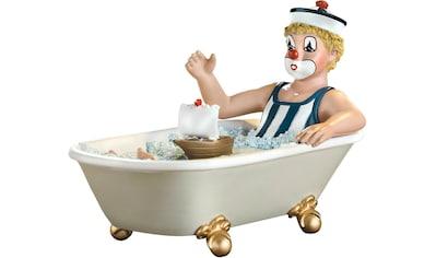 Gildeclowns Sammelfigur »Clown Dekofigur, Auf grosser Fahrt«, handbemalt, Wohnzimmer kaufen