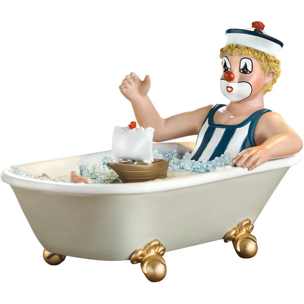 Gildeclowns Sammelfigur »Clown Dekofigur, Auf grosser Fahrt«, handbemalt, Wohnzimmer