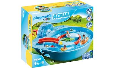 Playmobil® Konstruktions-Spielset »Fröhliche Wasserbahn (70267), Playmobil 123 - Aqua«, ; Made in Germany kaufen