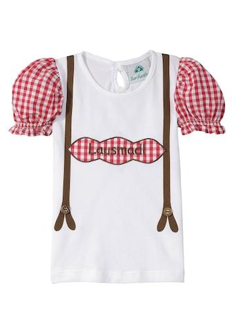 Isar - Trachten Trachtenshirt Kinder mit Schriftzug kaufen