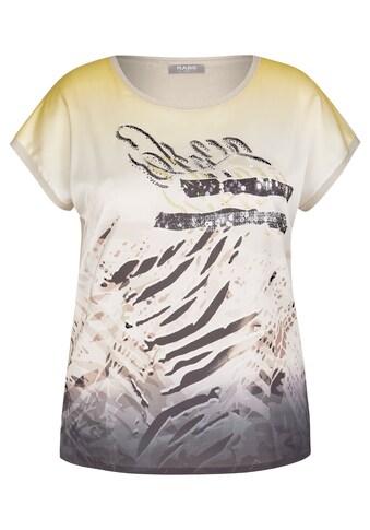 Rabe Paillettenshirt, mit exotischem Front-Print und Pailletten kaufen