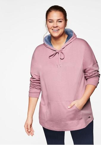 Sheego Sweatshirt, in Interlock-Qualität mit Anti-Pilling kaufen