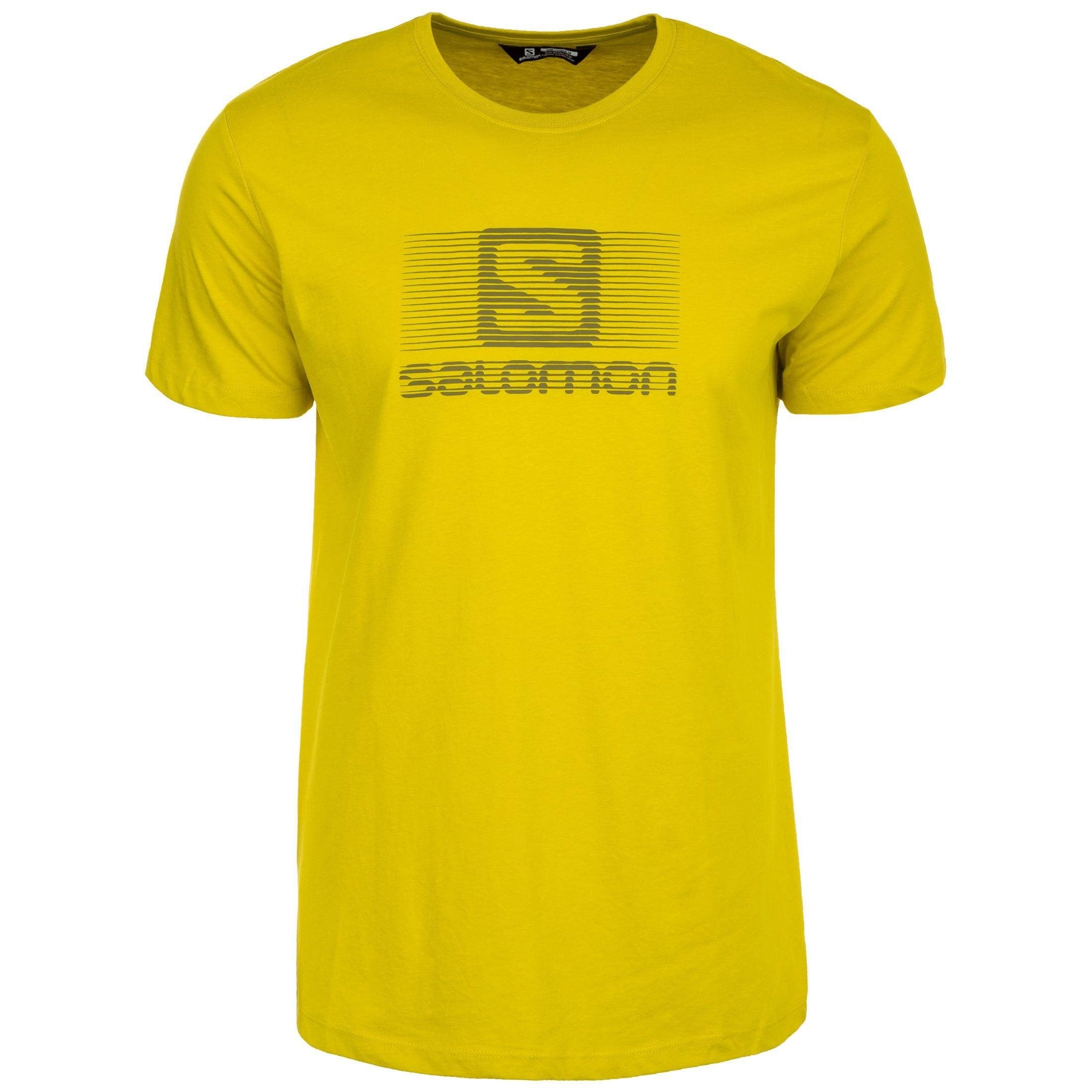 Salomon Laufshirt Blend Logo   Sportbekleidung > Sportshirts > Laufshirts   Salomon
