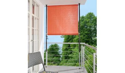 ANGERER FREIZEITMÖBEL Klemm - Senkrechtmarkise orange, BxH: 120x225 cm kaufen