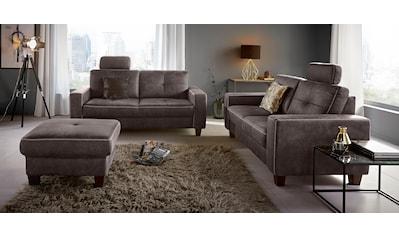 Places of Style 2,5-Sitzer, mit Kreuznaht und Federkern kaufen
