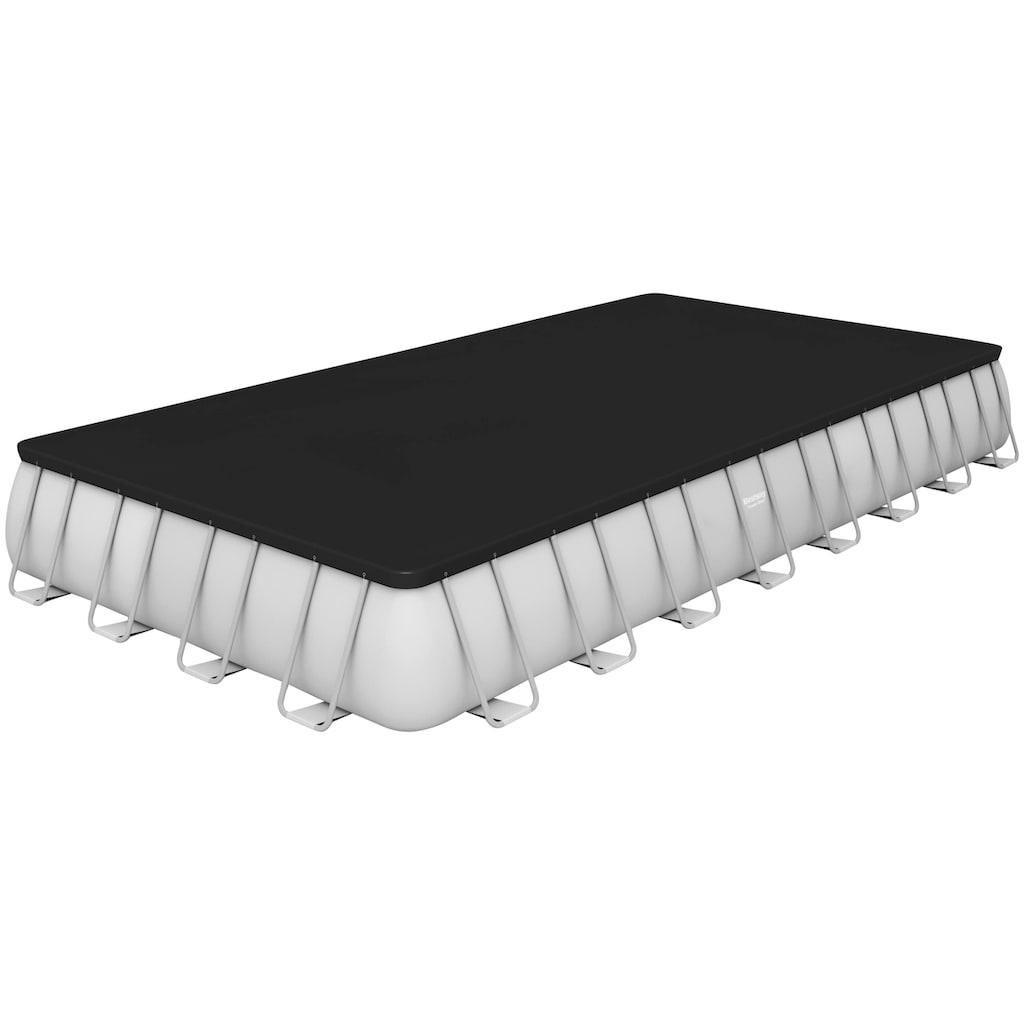 Bestway Rechteckpool »Power Steel™ Frame«, BxLxH: 488x956x132 cm