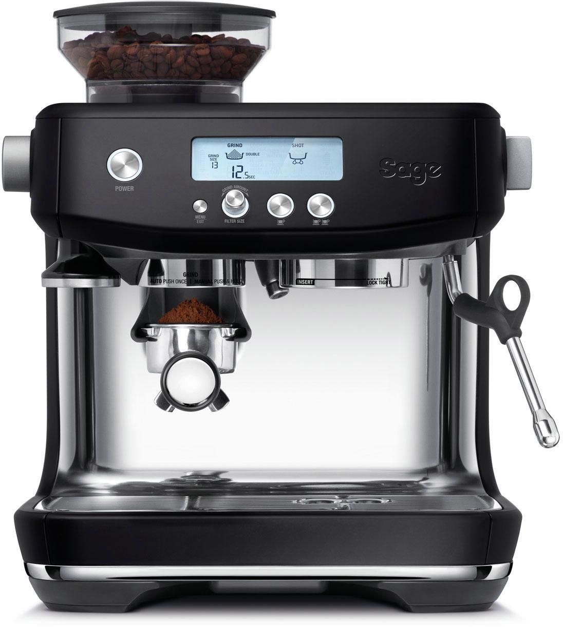 Sage Espressomaschine The Barista Pro SES878BTR4EEU1 | Küche und Esszimmer > Kaffee und Tee > Espressomaschinen | Schwarz | Sage