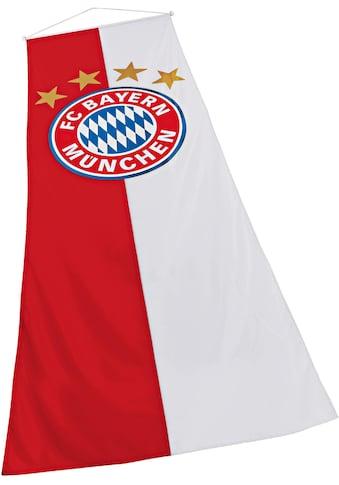 FC Bayern Fahne »FC Bayern Bannerfahne«, für Fahnenmasten kaufen