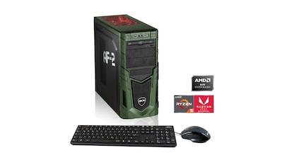 Hyrican Multimedia PC Ryzen 5 3400G 8GB RAM 480GB SSD Radeon RX Vega 11 »Multimedia PC 6435« kaufen