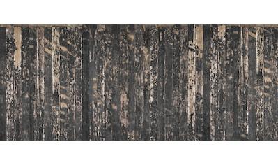 Architects Paper Fototapete »Wooden Floor Black«, Vintage Holz Optik, Holzplanken, Vlies, glatt kaufen