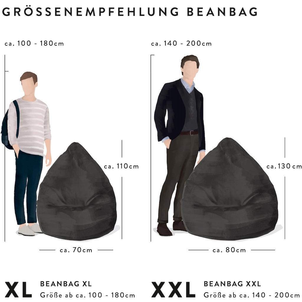 Sitting Point Sitzsack »SKINS XL«, Kunstfell