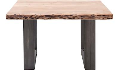 MCA furniture Couchtisch »Cartagena«, Couchtisch Massivholz mit Baumkante und... kaufen