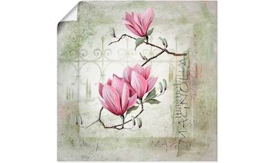 Artland Wandbild »Pinke Magnolie« kaufen
