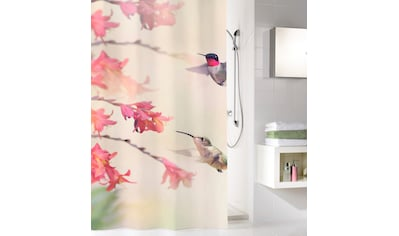 Kleine Wolke Duschvorhang »Kolibri«, Breite 180 cm, (1 tlg.), Höhe 200 cm, mit... kaufen
