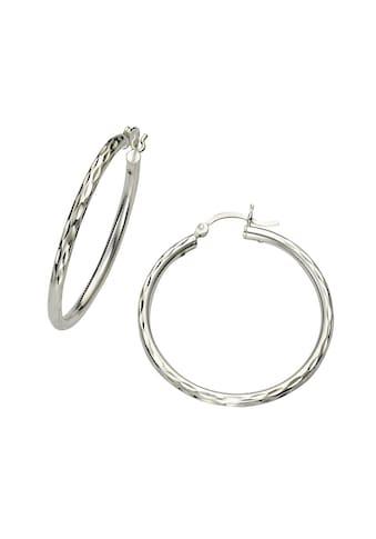 Vivance Creolen »925/ -  Sterling Silber rhodiniert 24mm« kaufen