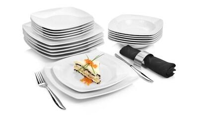 SÄNGER Tafelservice »Markant«, (18 tlg., Tafelservice Markant aus Porzellan 18 teilig) kaufen