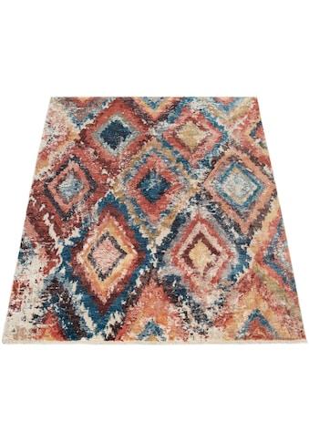 Paco Home Teppich »Eternal 432«, rechteckig, 15 mm Höhe, Kurzflor mit Used-Look und... kaufen