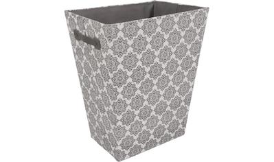 Franz Müller Flechtwaren Wäschebox »TexBox«, (1 St.), Ornamente, mit seitlichen... kaufen
