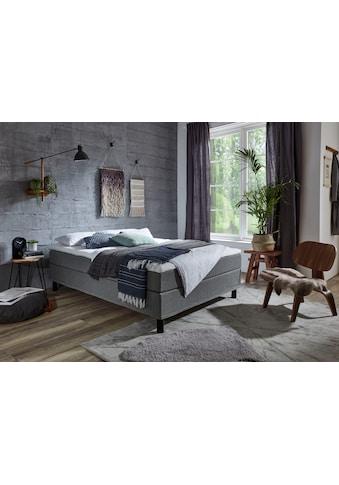 ATLANTIC home collection Boxbett, ohne Kopfteil, mit Topper, wahlweise mit oder ohne... kaufen