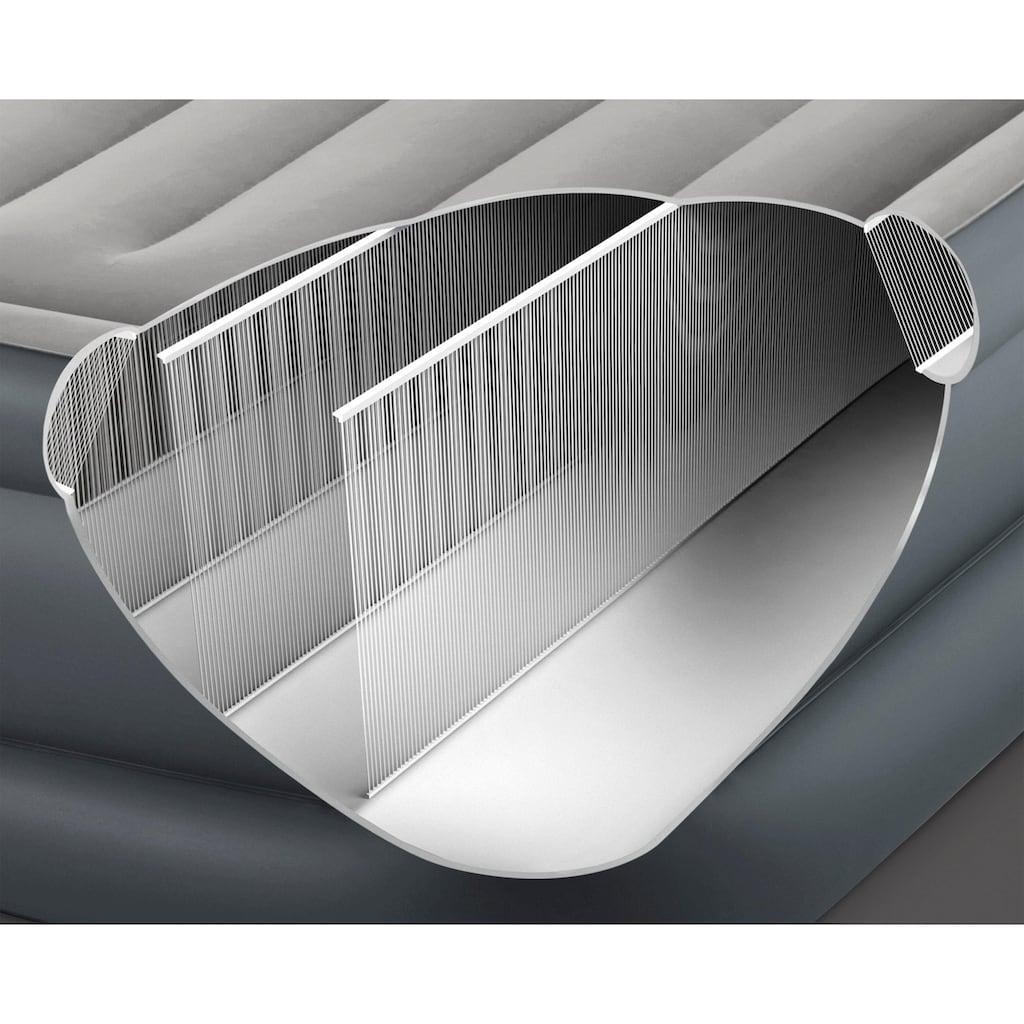 Intex Luftbett »DURA-BEAM® Essential Rest Airbed, QUEEN«, (Set, 2, mit Transporttasche)